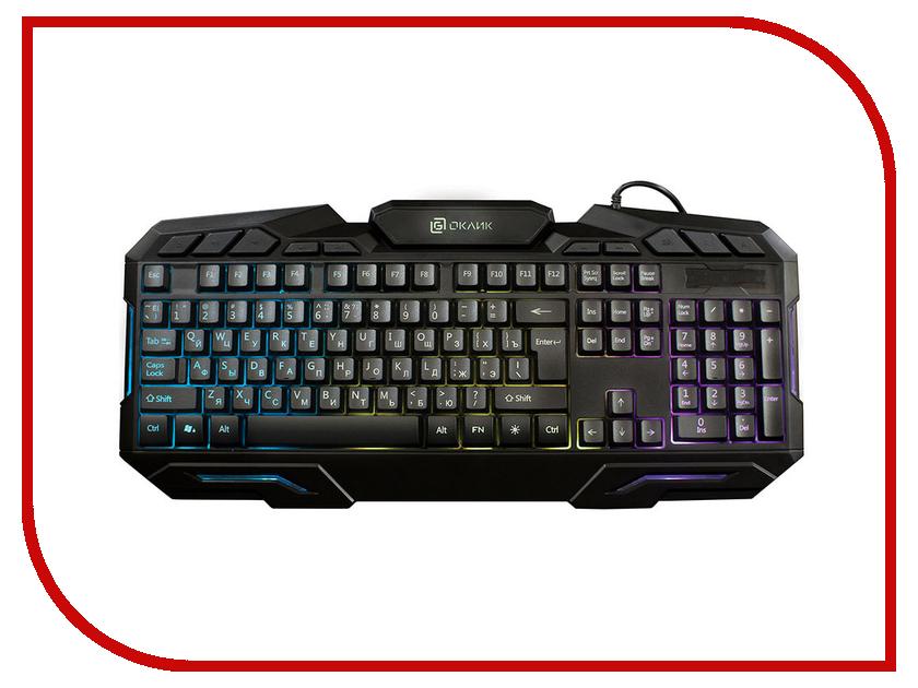 Купить Клавиатура Oklick 700G Black USB