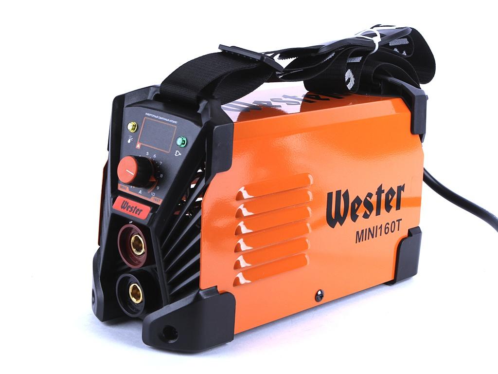 сварочный аппарат sturm aw97i125 Сварочный аппарат Wester MINI 160T