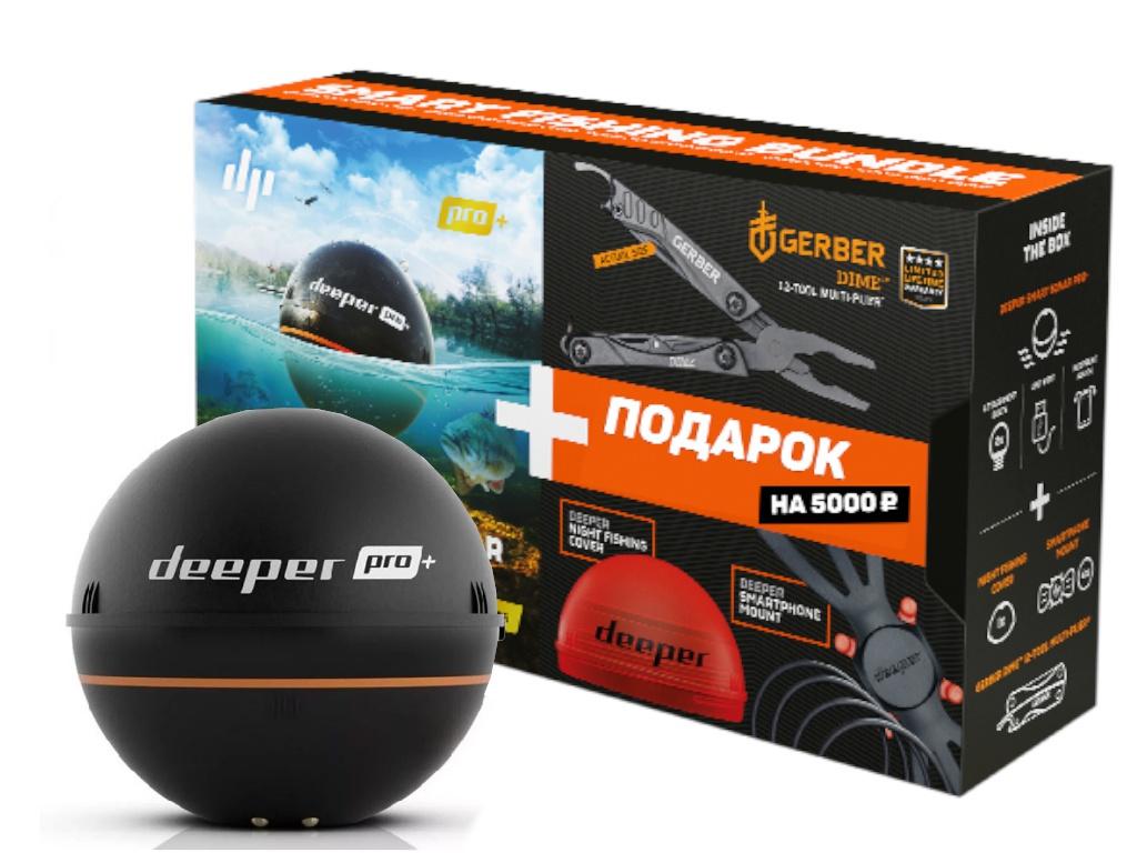 Купить Эхолот Deeper Smart Sonar Pro+ плюс, Литва