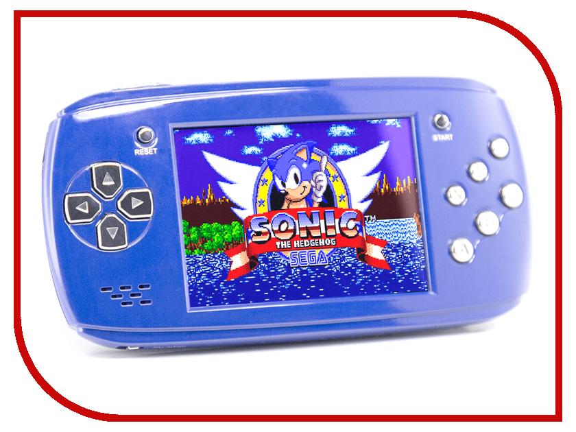 Купить Игровая приставка DVTech Scout Classic 16 bit Blue + 9 игр