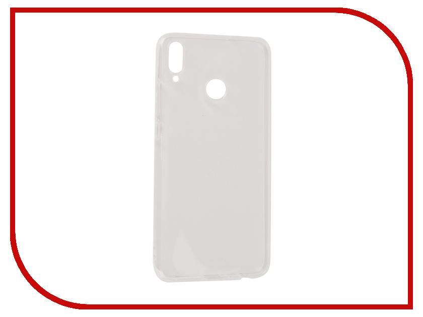Купить Аксессуар Чехол для Honor 8X Gecko Transparent-White S-G-HUAH8X-WH
