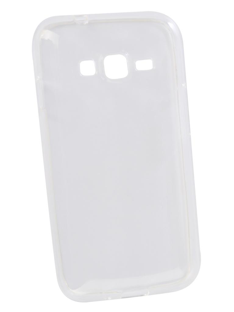 батарея для samsung galaxy s4 mini Аксессуар Чехол Innovation для Samsung Galaxy J1 Mini Prime Transparent 13177