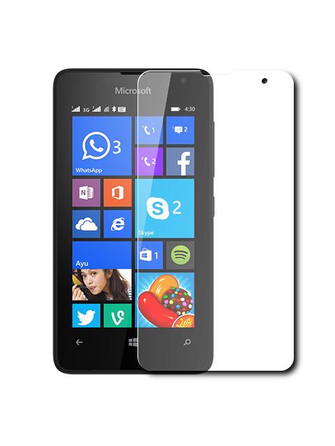 купить вспышка lumia 1020 Аксессуар Защитное стекло Krutoff для Nokia Lumia 435 0.26mm 21959