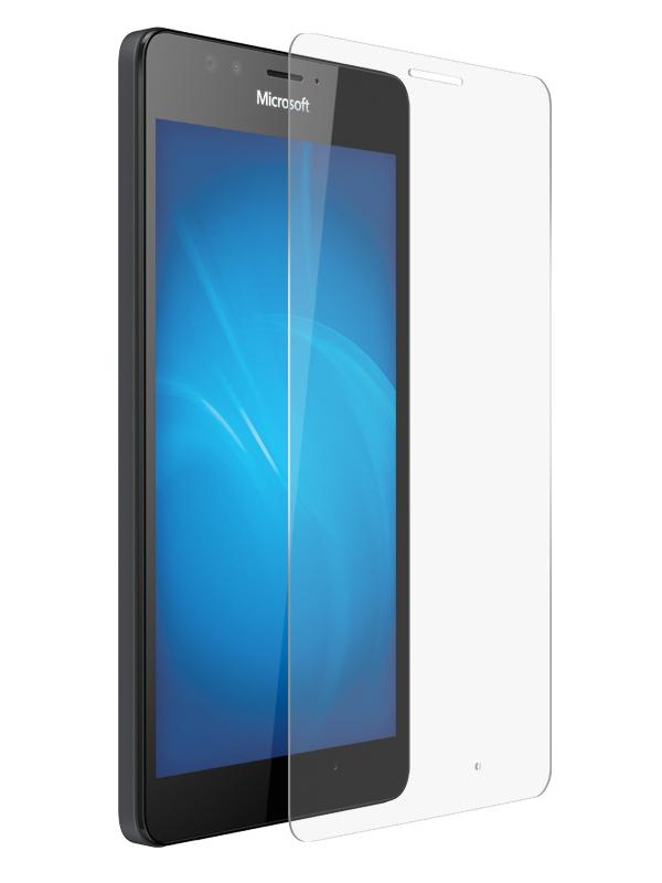 купить вспышка lumia 1020 Аксессуар Защитное стекло Krutoff для Nokia Lumia 950 XL 0.26mm 20301