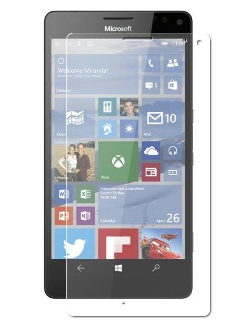 купить вспышка lumia 1020 Аксессуар Защитное стекло Krutoff для Nokia Lumia XL 0.26mm 21909