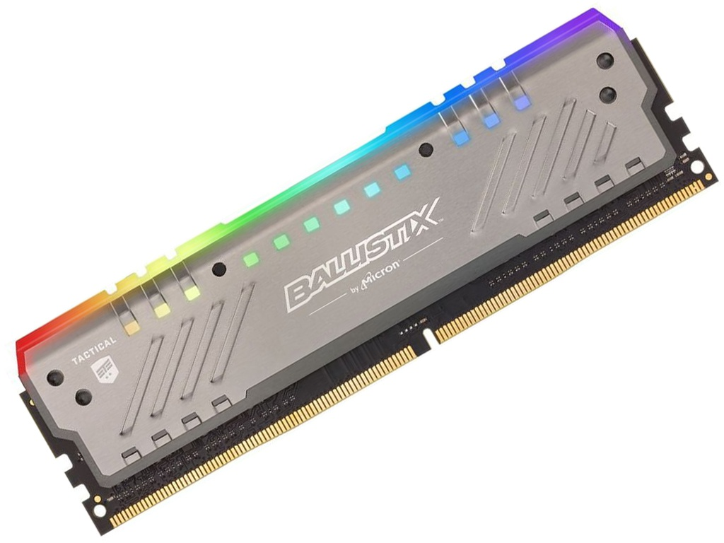Купить Модуль памяти Crucial Ballistix Tactical Tracer DDR4 DIMM 3000MHz PC4-24000 CL16 - 8Gb BLT8G4D30BET4K