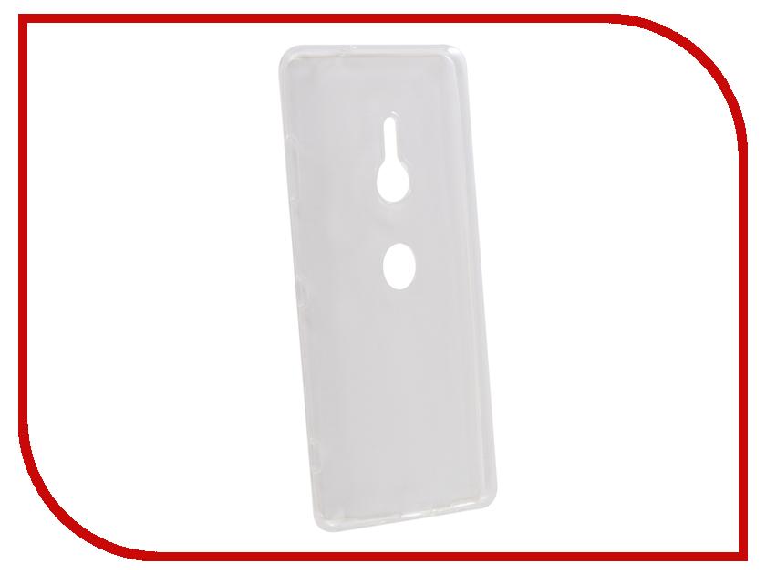 Купить Аксессуар Чехол для Sony Xperia XZ3 Brosco Silicone Transparent XZ3-TPU-TRANSPARENT