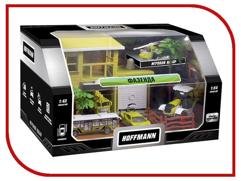 Купить Игрушка Hoffmann Набор машин Фазенда 72309