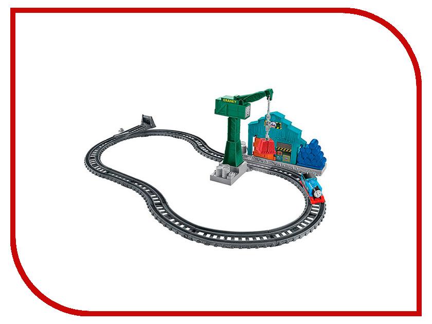 Купить Игрушка Mattel Fisher-Price Thomas And Friends Томасом и подъемным краном Крэнки DVF73