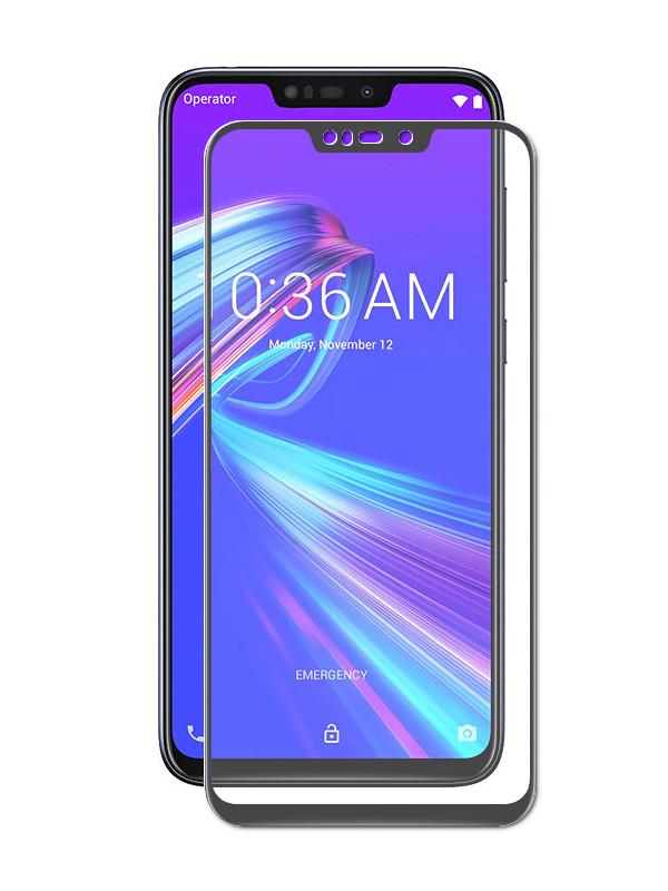 сотовый телефон asus zenfone max m2 zb633kl 64gb blue Аксессуар Защитный экран ASUS ZenFone Max M2 ZB633KL Red Line Full Screen Tempered Glass Black УТ000016820