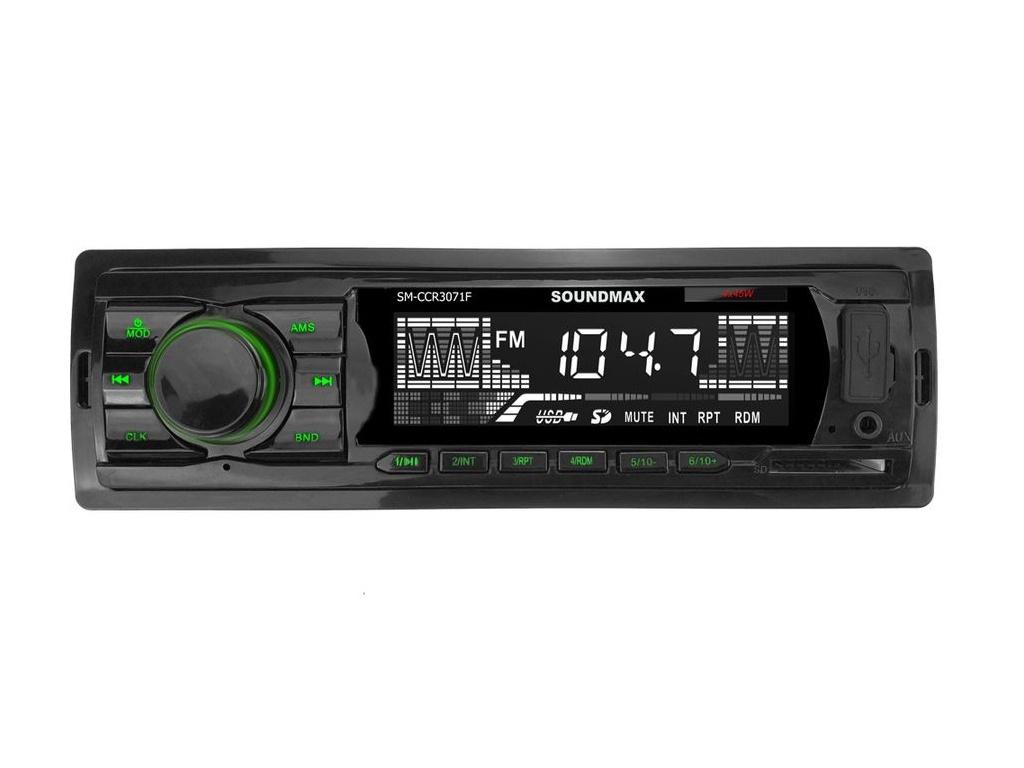 sm j530fm Автомагнитола SoundMAX SM-CCR3071F