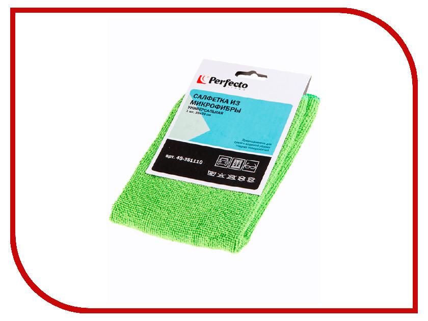 Купить Универсальная салфетка из микрофибры Perfecto 35x35cm 1шт 45351110