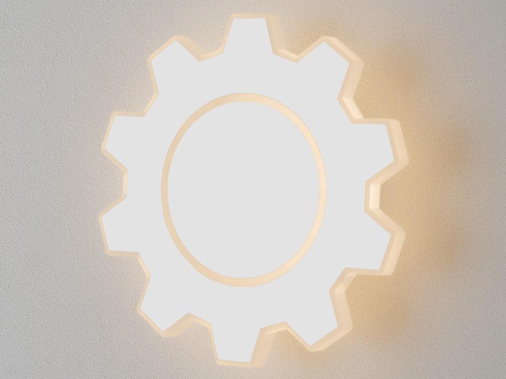 часы цена самсунг gear s Светильник Elektrostandard Gear M LED White MRL LED 1095