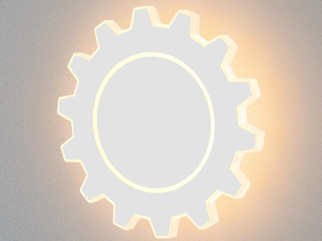 часы цена самсунг gear s Светильник Elektrostandard Gear L LED White MRL LED 1100