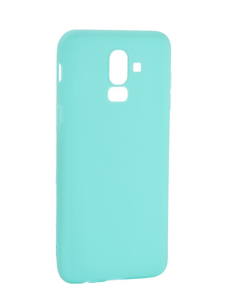 аксессуар чехол pero для xiaomi mi max 2 soft touch black prstc mmax21b Аксессуар Чехол Pero для Samsung Galaxy J8 2018 Soft Touch Turquoise PRSTC-J818C