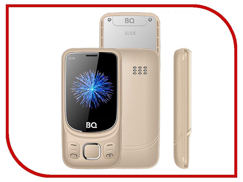 Купить Сотовый телефон BQ BQ-2435 Slide Gold