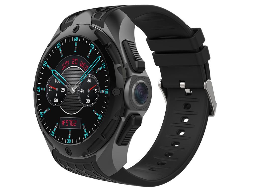 умные часы kingwear kw18 silver Умные часы KingWear KW68 Black