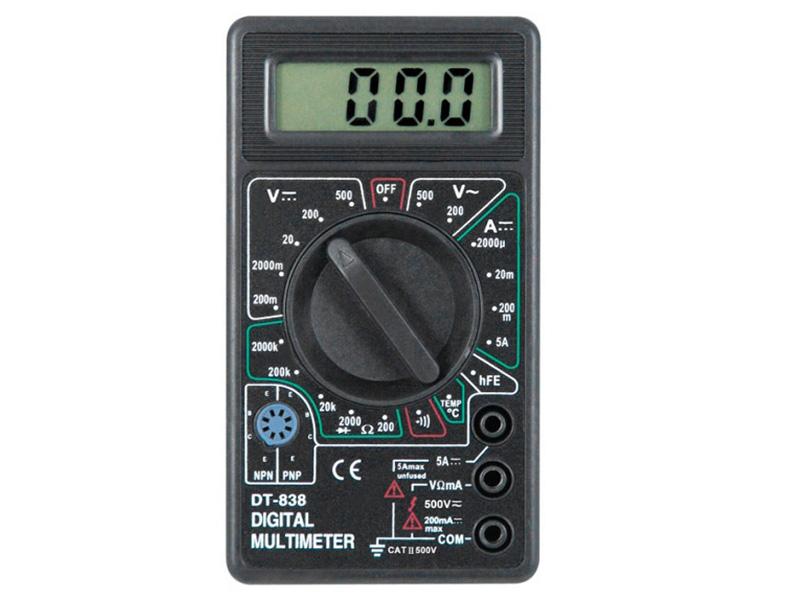 3 dt Мультиметр Kromatech DT-838 58149b003