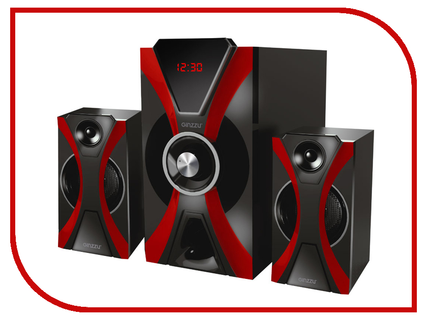 Купить Колонка Ginzzu GM-427 Black-Red