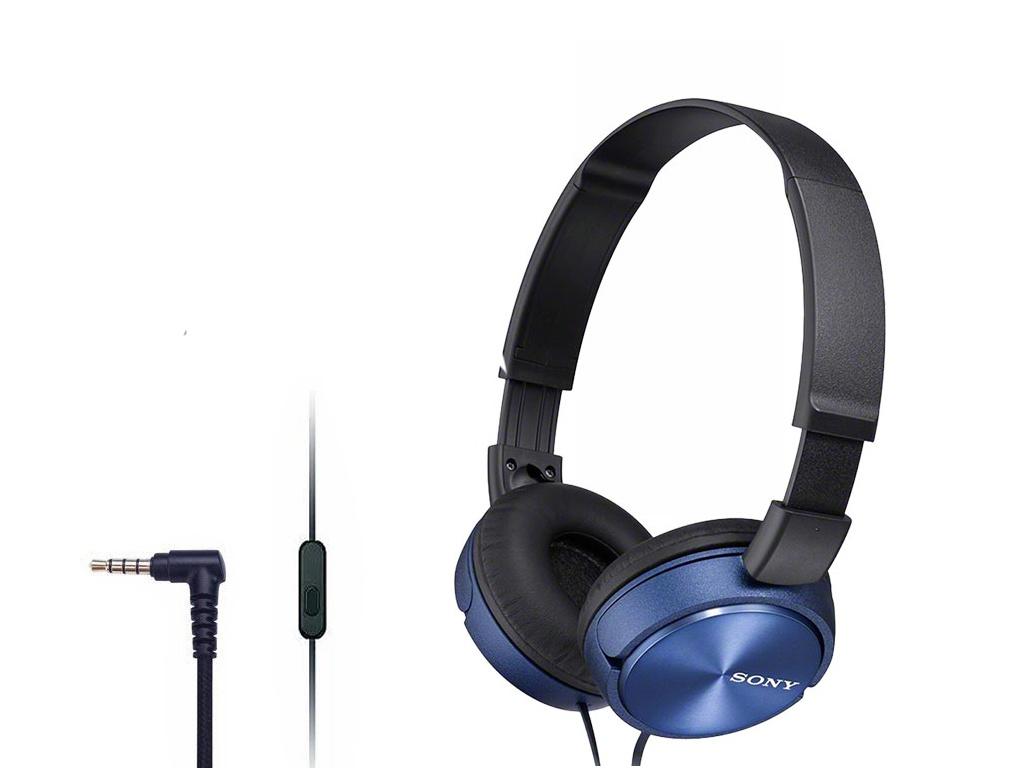 Наушники Sony MDR-ZX310AP Blue наушники sony mdr zx310ap черный