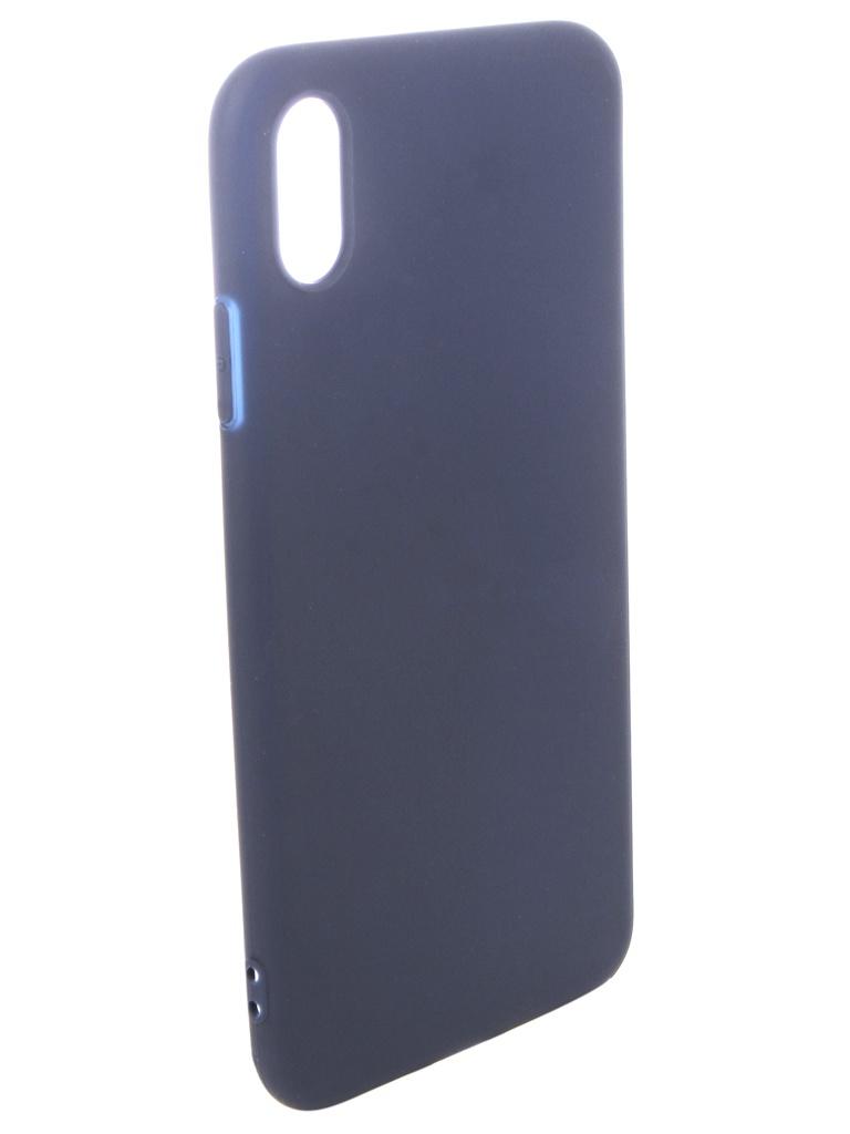 аксессуар чехол pero для xiaomi mi max 2 soft touch black prstc mmax21b Аксессуар Чехол Pero для APPLE iPhone XS Max Soft Touch Blue PRSTC-IXSMBL