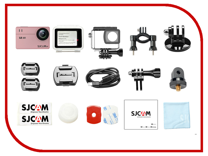 Купить Экшн-камера SJCAM SJ8 Air Rose