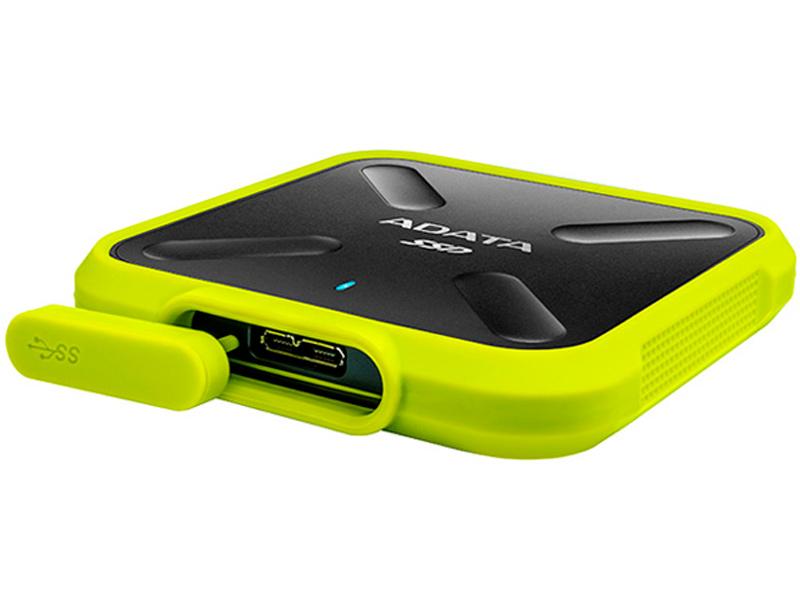 Твердотельный накопитель ADATA SD700 512GB Yellow adata sd700 series 256gb asd700 256gu31 cbk черный