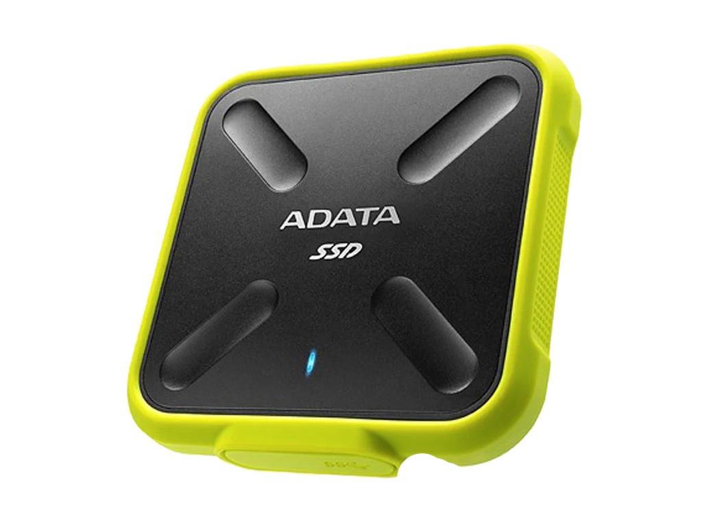 Твердотельный накопитель ADATA SD700 256GB Yellow adata sd700 series 256gb asd700 256gu31 cbk черный
