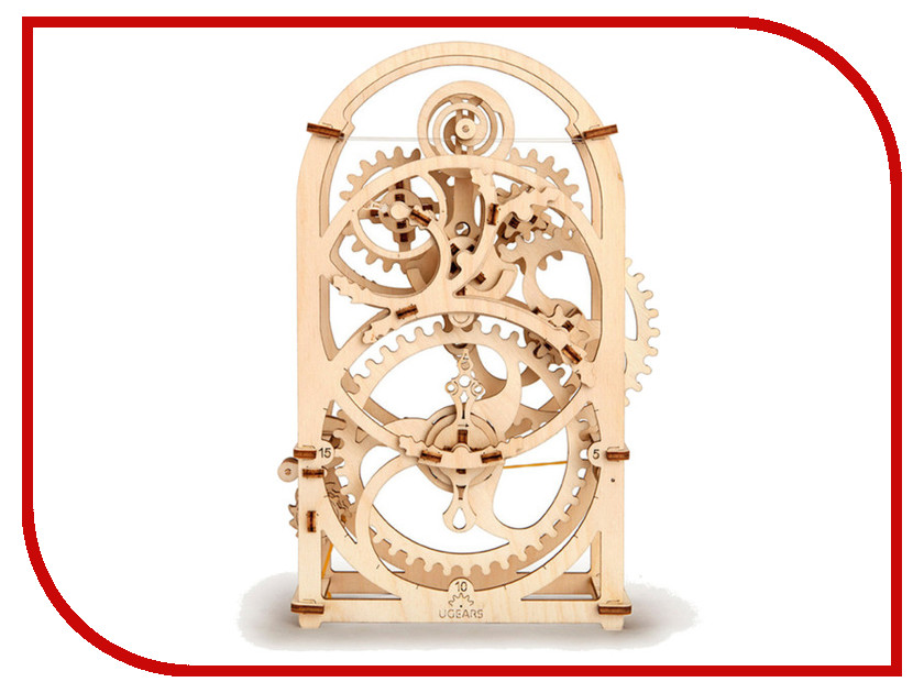 Купить Сборная модель UGears Таймер-секундомер на 20 минут 70004, Украина