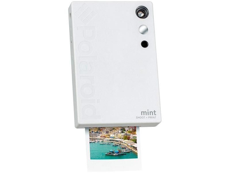 конструктор фотоаппарат Фотоаппарат Polaroid Mint White POLSP02W