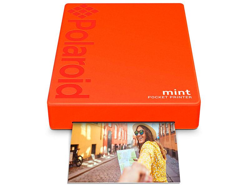 купить дешевый черно белый принтер Принтер Polaroid Mint Red POLMP02R