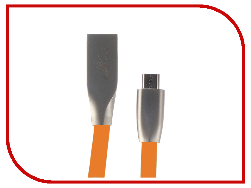 Купить Аксессуар Gembird Cablexpert USB AM/microBM 1m Orange CC-G-mUSB01O-1M