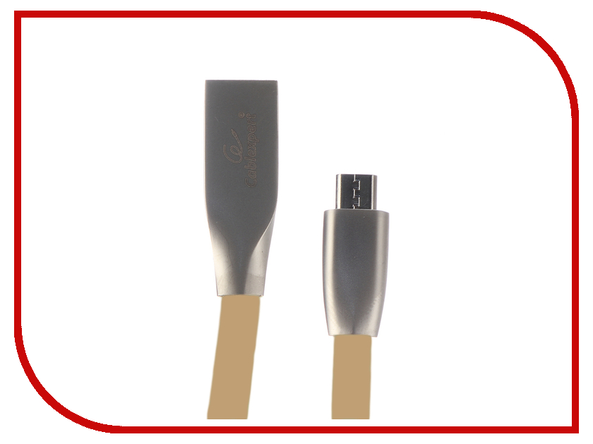 Купить Аксессуар Gembird Cablexpert USB AM/microBM 1m Gold CC-G-mUSB01Gd-1M