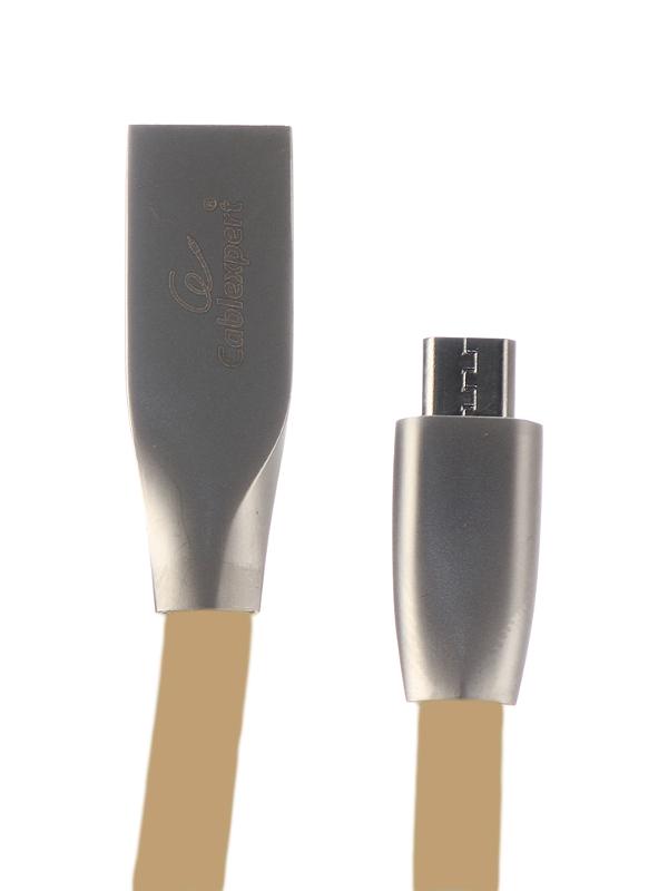 Фото - Аксессуар Gembird Cablexpert USB AM/microBM 1m Gold CC-G-mUSB01Gd-1M аксессуар gembird cablexpert usb am microbm 50cm gold cc g musb02cu 0 5m