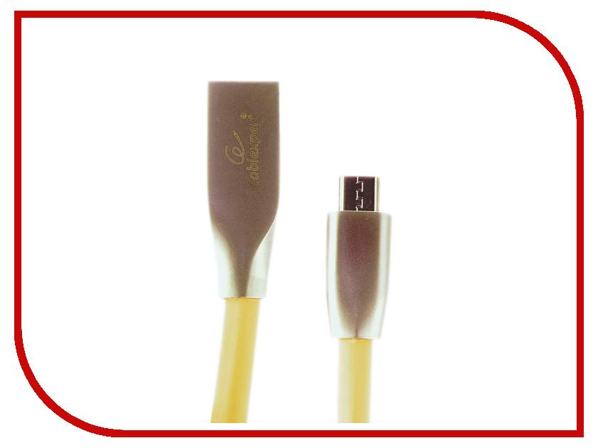 Купить Аксессуар Gembird Cablexpert USB AM/Type-C 1m Gold CC-G-USBC01Gd-1M