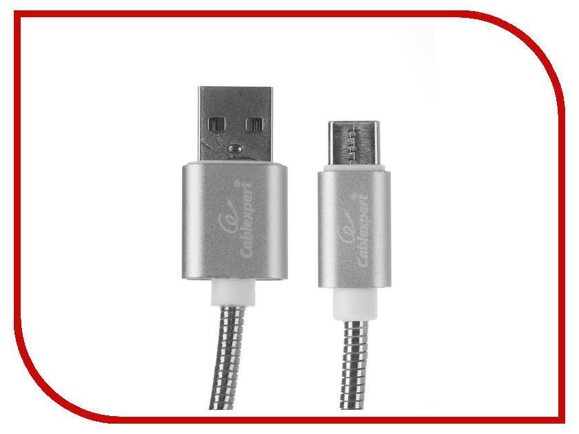 Купить Аксессуар Gembird Cablexpert USB AM/Type-C 1.8m Silver CC-G-USBC02S-1.8M