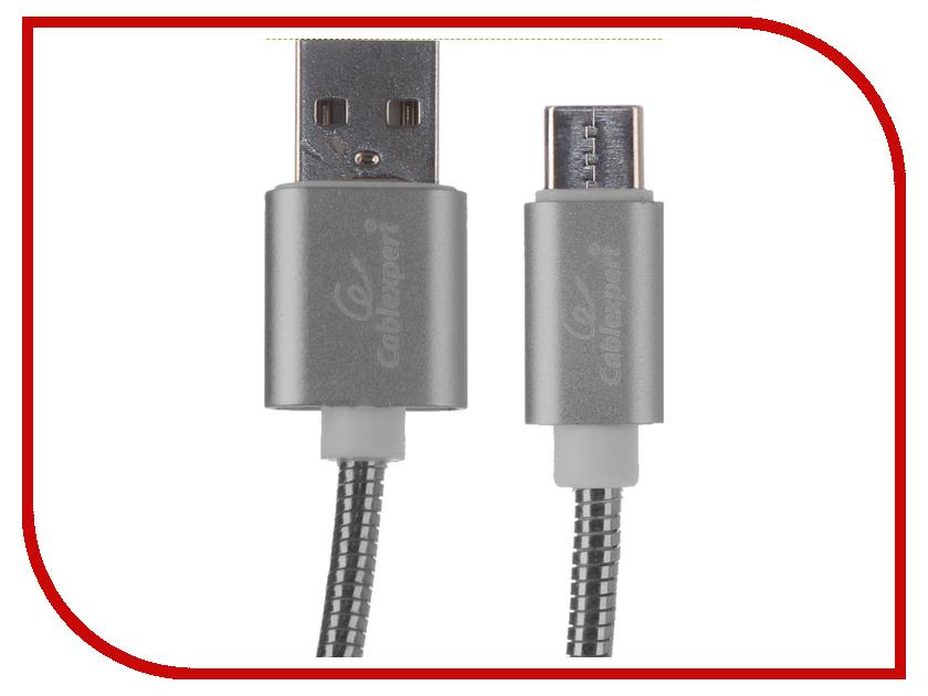 Купить Аксессуар Gembird Cablexpert USB AM/Type-C 1.8m Titan CC-G-USBC02Gy-1.8M