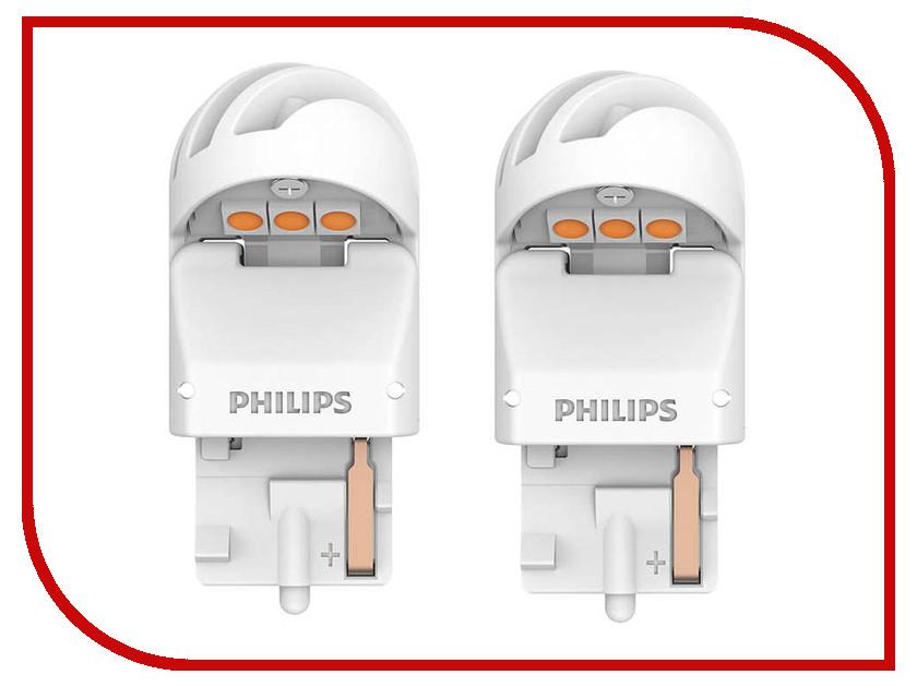 Купить Лампа Philips X-treme Ultinon LED WY21W 12V-LED 21W W3x16d + CANbus CEA 11065XUAXM