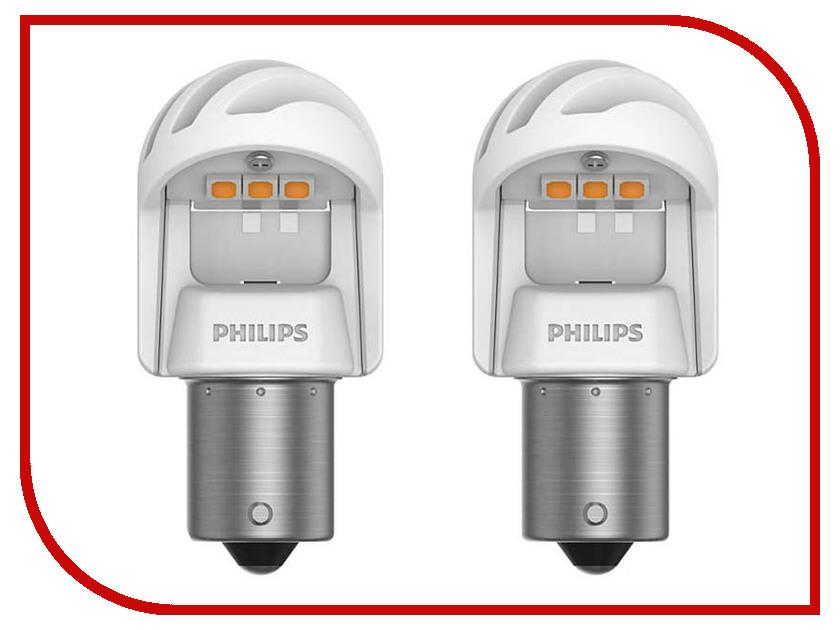 Купить Лампа Philips X-treme Ultinon LED PY21W 12V-LED 21W BAU15s + CANbus CEA 11498XUAXM