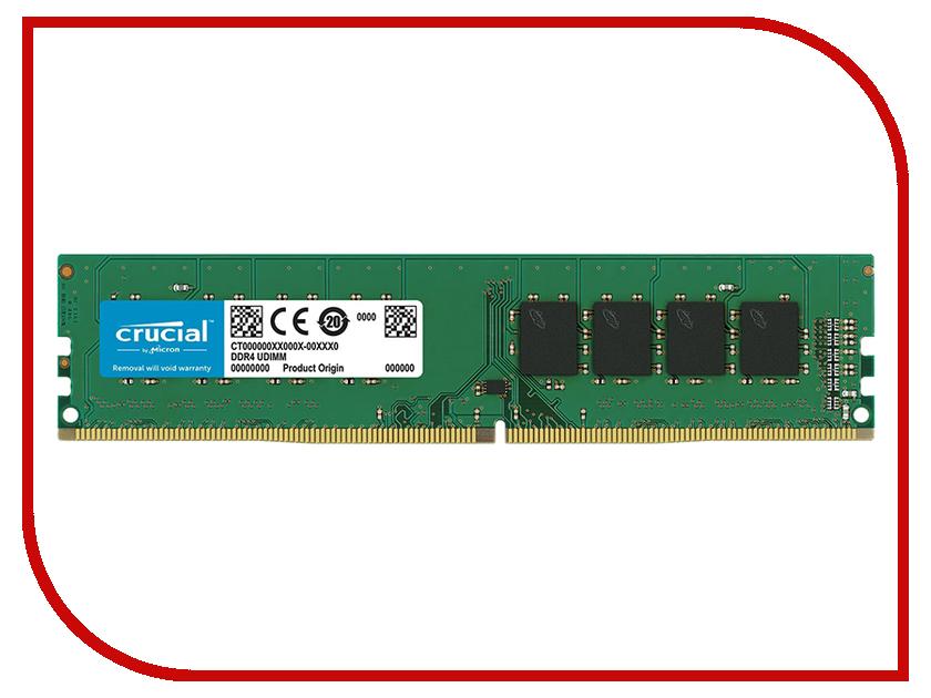 Купить Модуль памяти Crucial DDR4 DIMM 2666MHz PC4-21300 CL19 - 16Gb CT16G4DFD8266