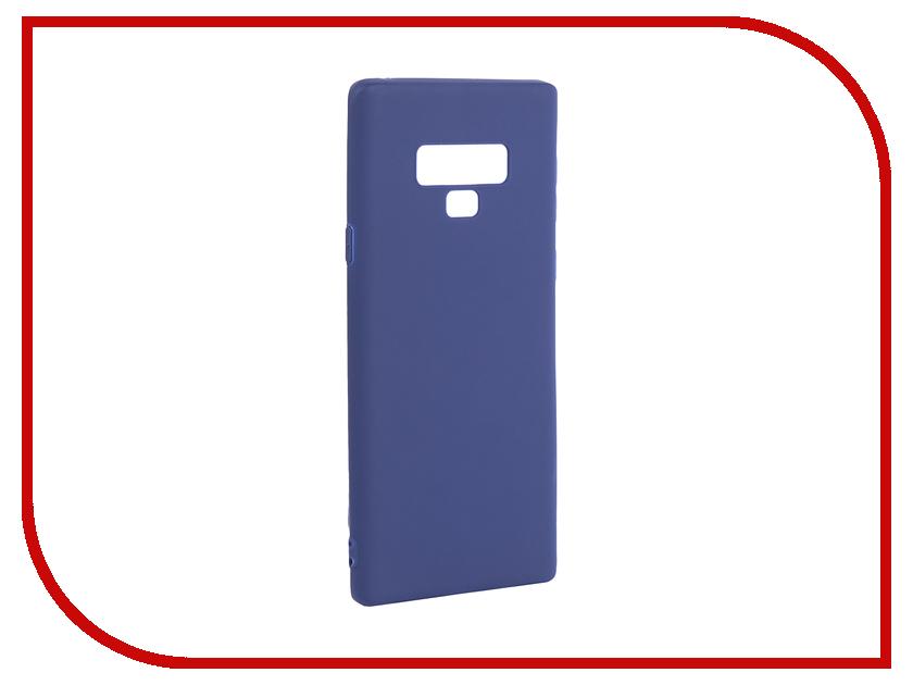 Купить Аксессуар Чехол Pero для Samsung Galaxy Note 9 Blue PRSTC-N9BL