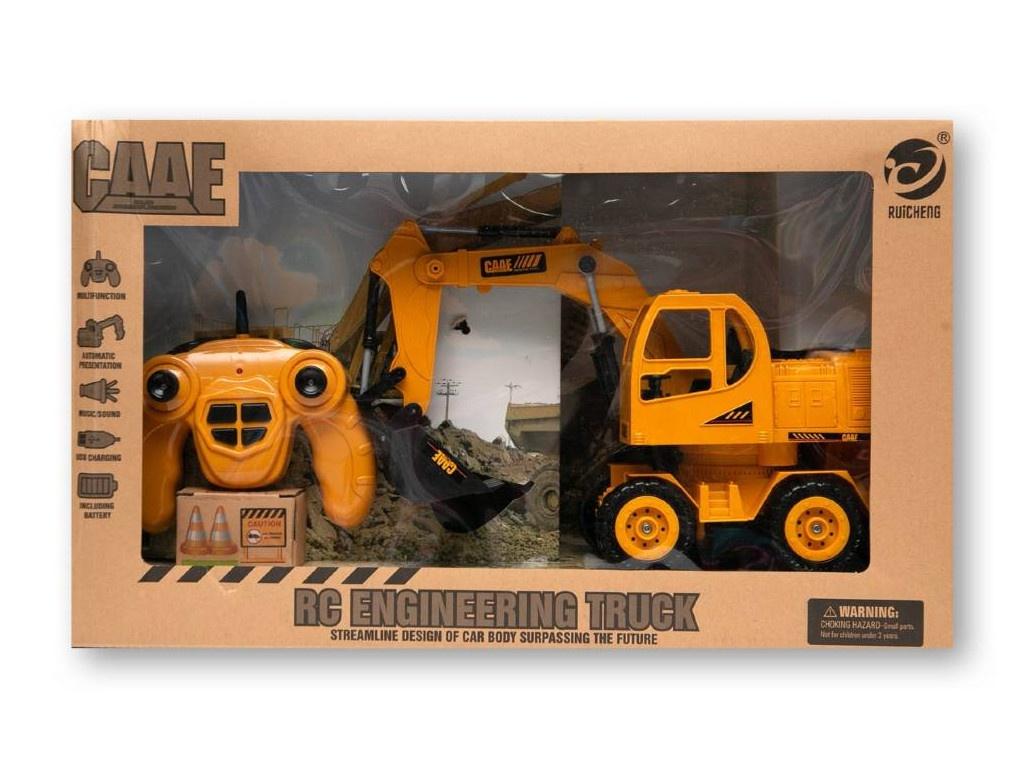 игрушка наша игрушка экскаватор снегоуборочный 6655 6 Игрушка Zoomi Колесный экскаватор ZM257
