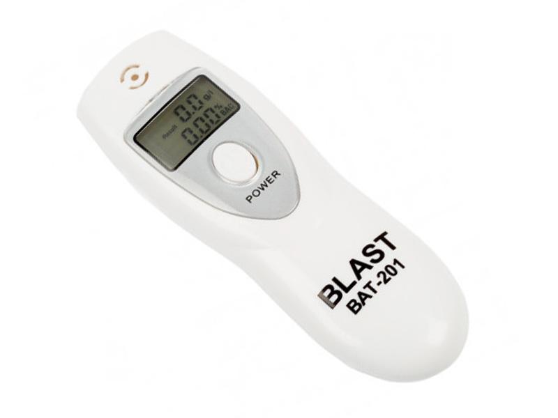 купить алкотестер с электрохимическим сенсором Алкотестер Blast BAT-201 White 30042