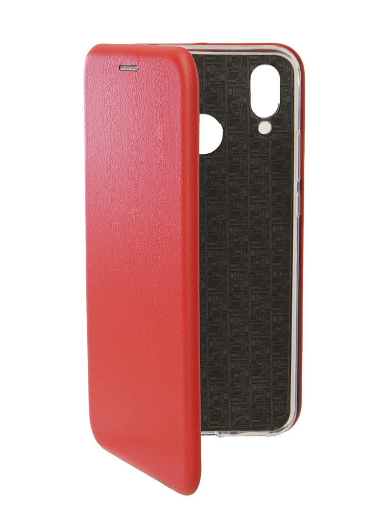 аксессуар чехол innovation для huawei nova 3 black 14275 Аксессуар Чехол Innovation для Huawei Nova 3 Book Silicone Magnetic Red 13391
