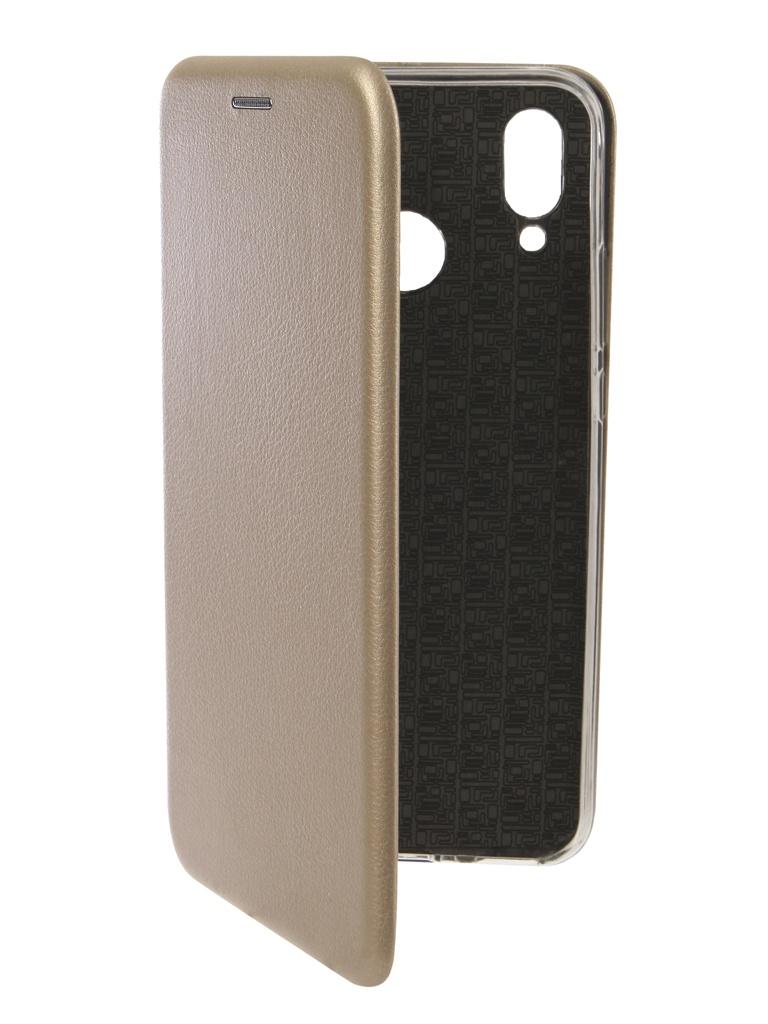 аксессуар чехол innovation для huawei nova 3 black 14275 Аксессуар Чехол Innovation для Huawei Nova 3 Book Silicone Magnetic Gold 13392