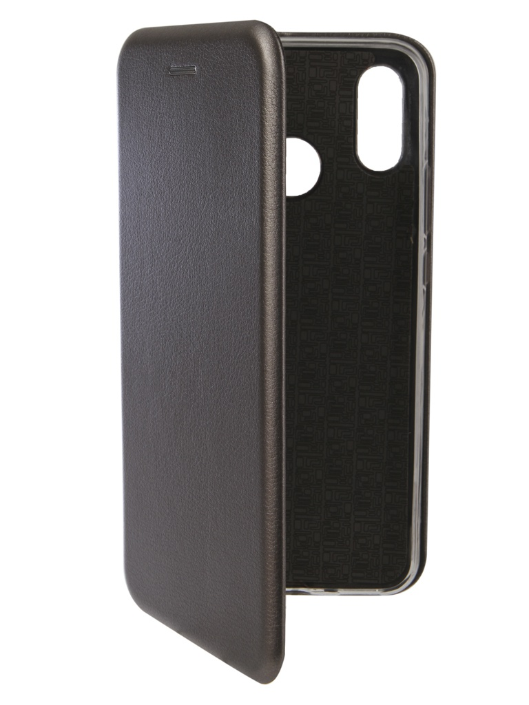 аксессуар чехол innovation для huawei nova 3 black 14275 Аксессуар Чехол Innovation для Huawei Nova 3 Book Silicone Magnetic Silver 13393