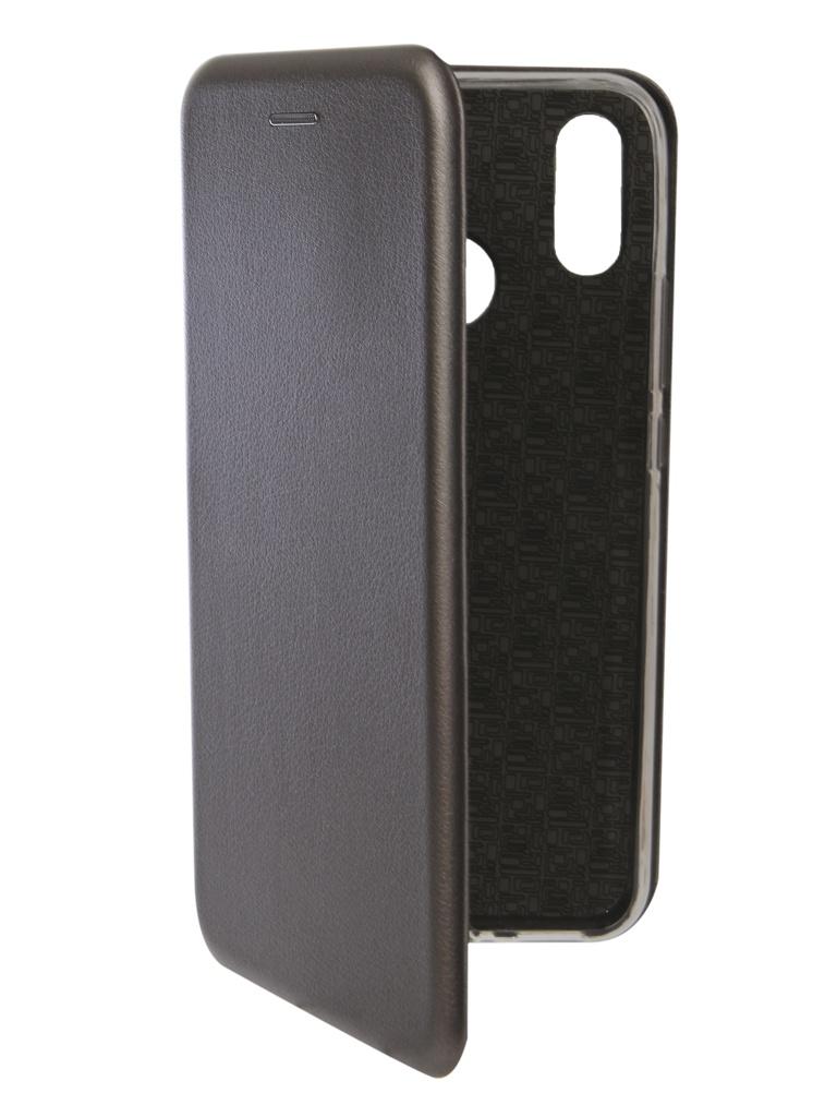 аксессуар чехол innovation для huawei nova 3 black 14275 Аксессуар Чехол Innovation для Huawei Nova 3i Book Silicone Magnetic Silver 13398