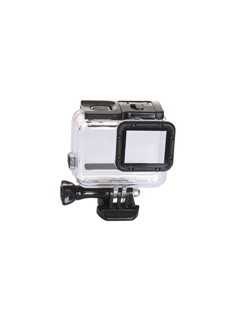 аквабокс студия новичка Аксессуар Lumiix GP433 аквабокс для GoPro 7 Hero Silver-White