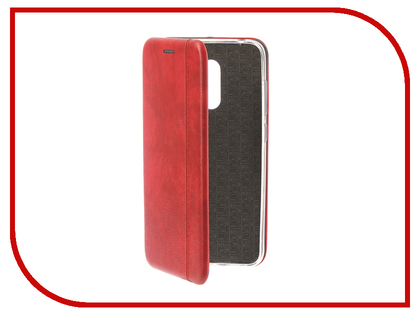 Купить Аксессуар Чехол для Xiaomi Pocophone F1 Innovation Book Silicone Magnetic Red 13446