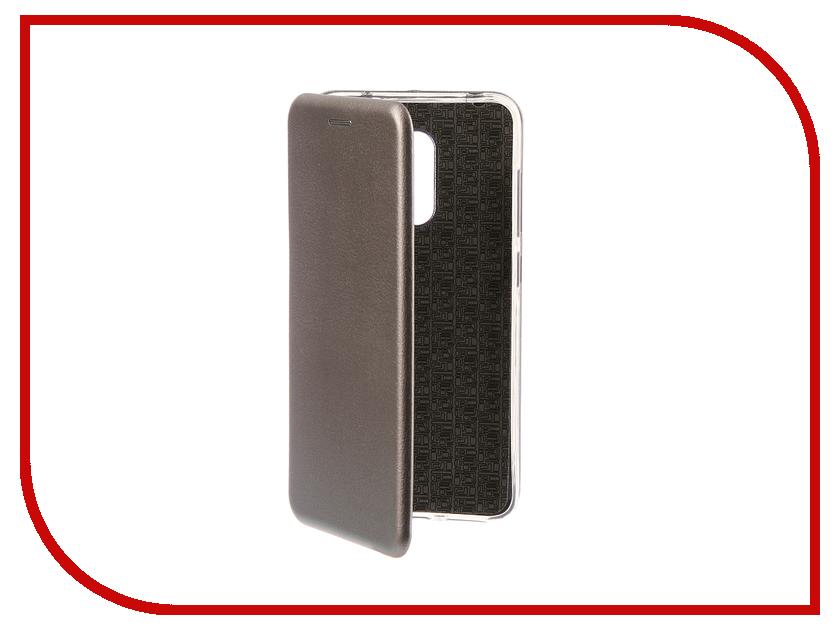 Купить Аксессуар Чехол для Xiaomi Pocophone F1 Innovation Book Silicone Magnetic Silver 13448
